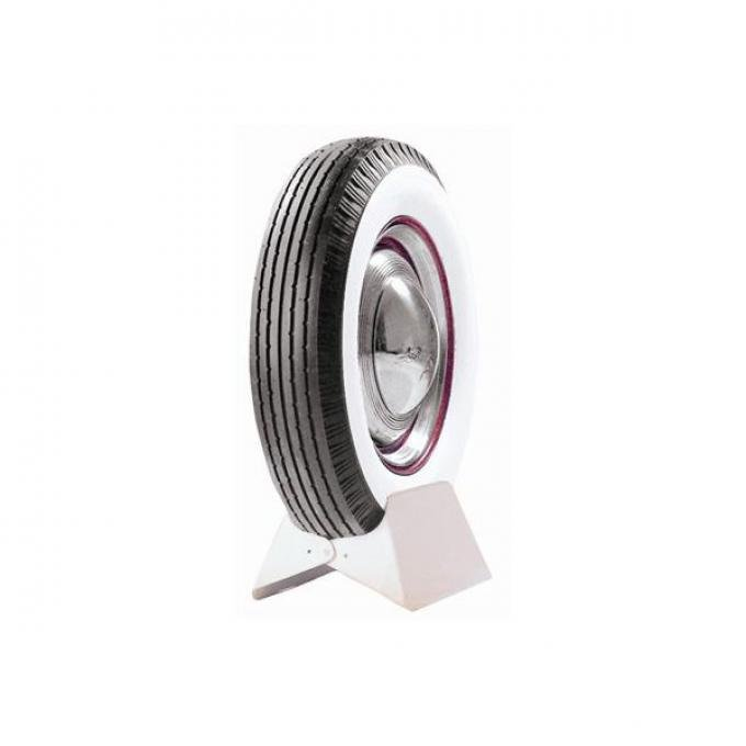 Tire - 6.00 X 16 - 3-1/2 Double-Sided Whitewall - Ford Script