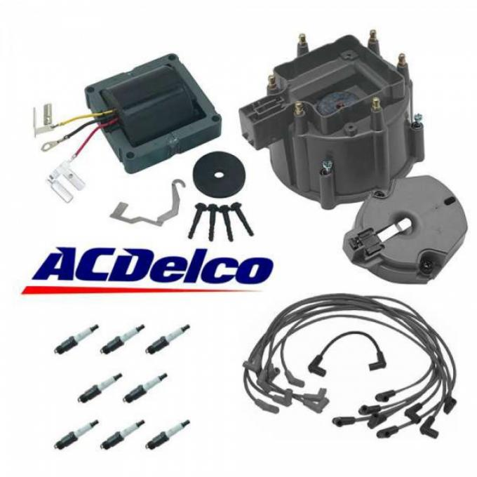 Chevy Or GMC Truck AC Delco HEI Distributor Tune Up Kit, 1974-1986