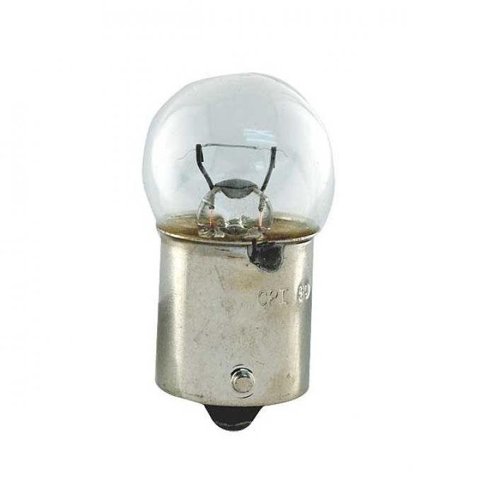 Instrument Panel Light Bulb - Single Contact - 6 CP - 12 Volt - Ford