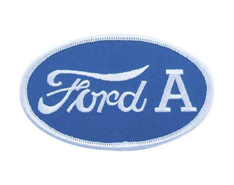 Cloth Patch - Oval Ford A Emblem