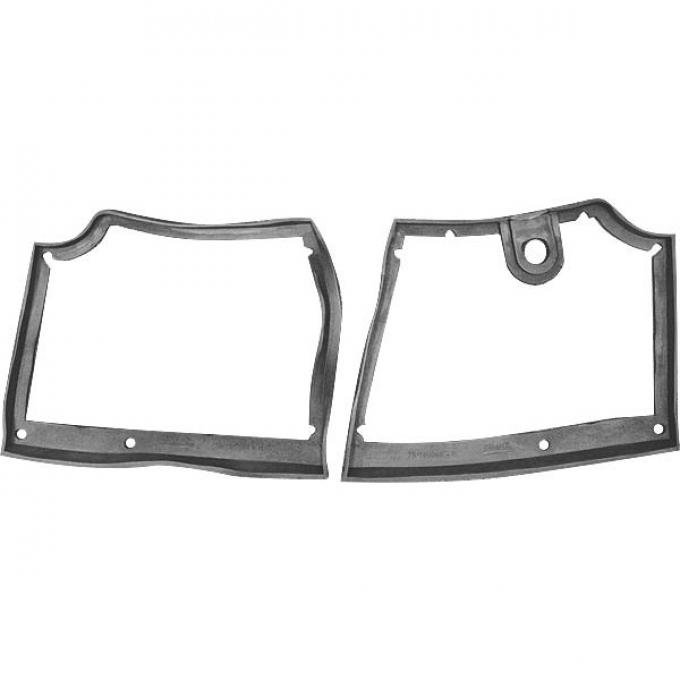 Floorboard Seals - Molded Sponge Rubber - Ford Passenger