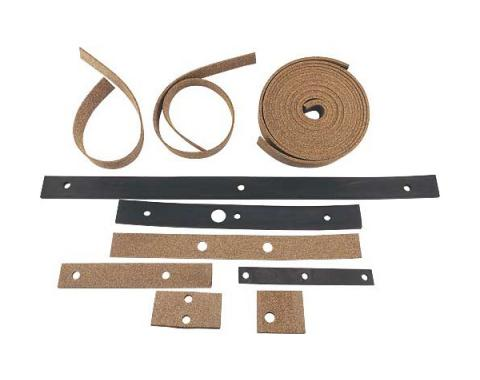 Body To Frame Pad Set - 19 Pieces - Ford Passenger Only