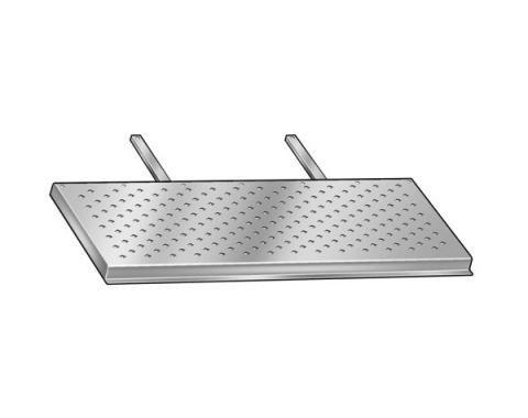 Running Boards - Die Stamped Steel - Diamond Pattern - FordPickup Truck
