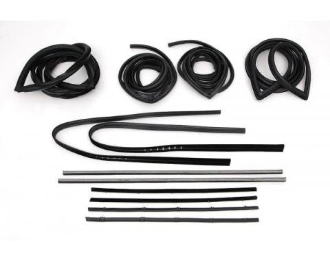 Chevy Truck Weatherstrip Kit, Standard, Without Chrome, 1967-1972