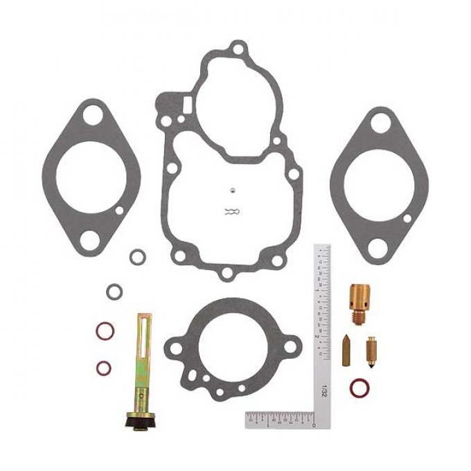 Carburetor Repair Kit - Holley 1 Barrel - 6 Cylinder G Or H- Ford