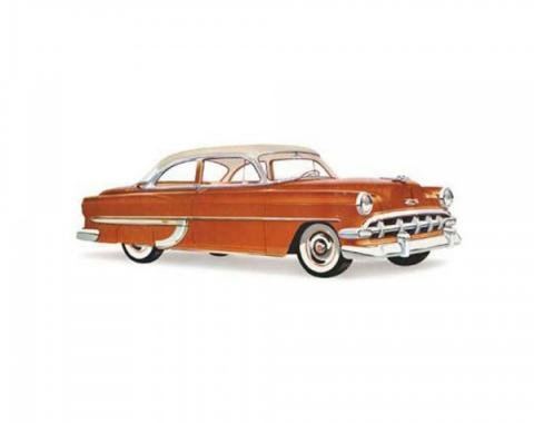 Early Chevy Windshield, Two And Four Door Sedan, Club And Business Coupe And Sedan Delivery, 1953-1954