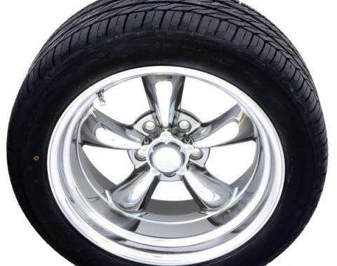 "Torq Thrust II PVD 17"" Wheels & Nitto Movito Tires, Mounted & Balanced Pkg"