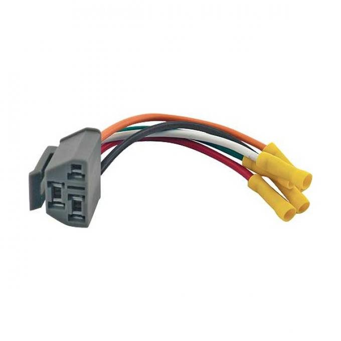 Ford Pickup Truck Heater & Air Conditioner Blower Switch Repair Harness - F100 Thru F350 From Serial #CA0,001
