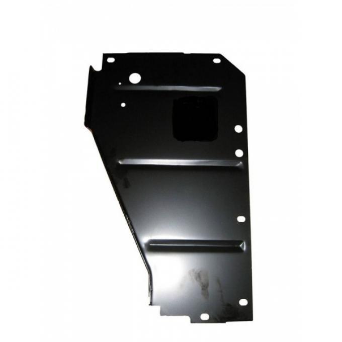 Chevy Filler Panel, Radiator Core Support, Left, 1956