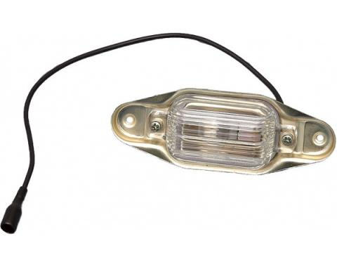 Chevy Truck Rear License Light Assembly, 1967-1987