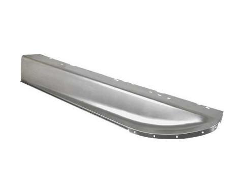 Model A Ford Running Board Splash Aprons - Steel - 1 Piece Type - 59-3/8
