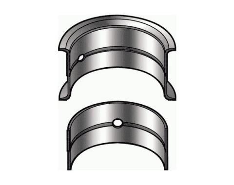 Crankshaft Main Bearing Set - Ford Flathead V8 85 HP 21 Stud Engine - 2.4 Journal - Choose Your Size