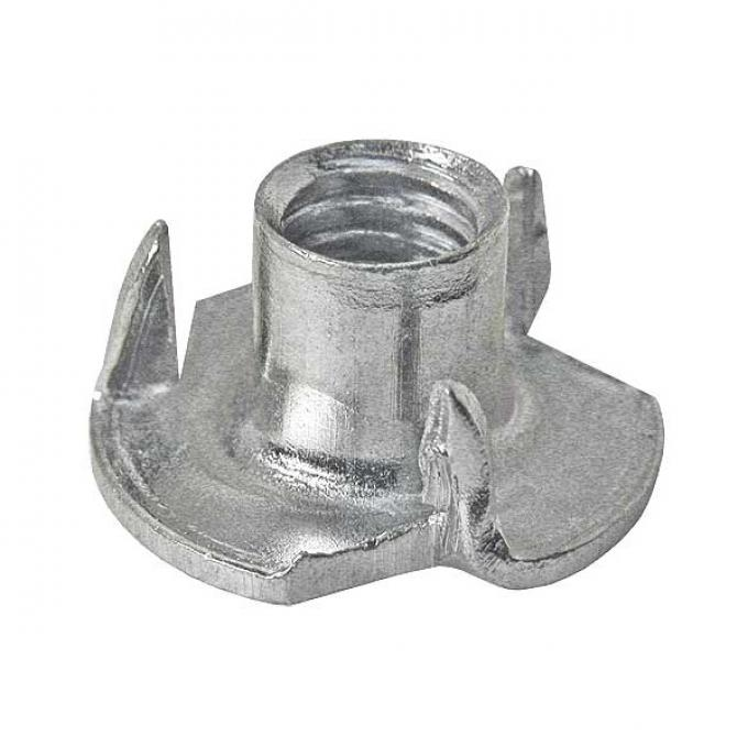T Nut - 5/16-18 - Spiked Flange - Zinc