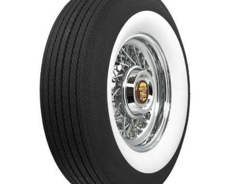 Tire - G78 X 15 - 2-3/4 Whitewall - Tubeless - Coker Classic