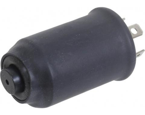 Turn Signal Flasher - 6 Volt - 3 Prong Type - With Beep Reminder - Ford