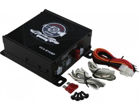 Vintage Car Audio Compact Amplifier, 180 Watts, With Wireless Bluetooth