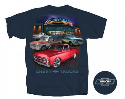 Chevy Truck - Chevy Truck T-Shirt, Showroom Classics