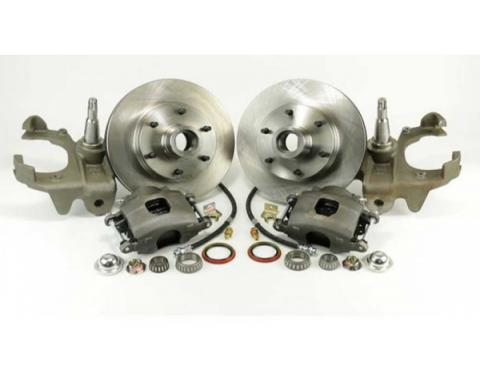 1960-62 Chevy-GMC Truck Legend Series Front Disc Brake Kit-Front Wheel, 6-Lug- Stock Spindles