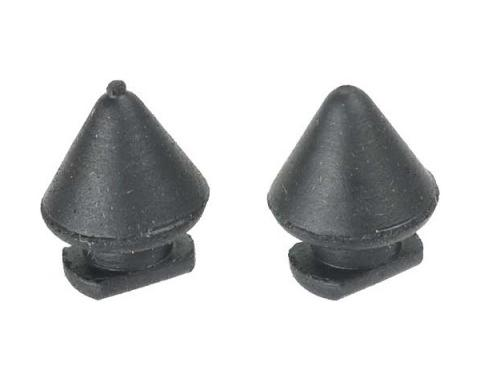 Gas Tank Filler Door or Glove Box Bumpers - Rubber