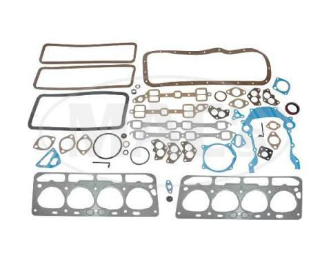 Ford Pickup Truck Engine Overhaul Gasket Set - 239 OverheadValve V8 - EBU Engine