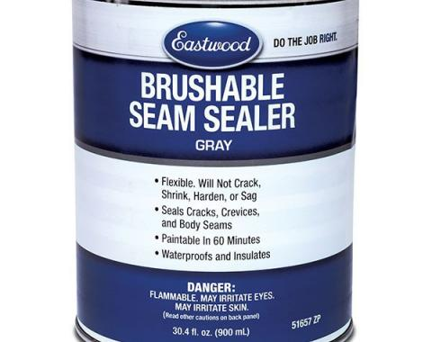Brush On Seam Sealer - Charcoal Gray - 30.4 Ounces