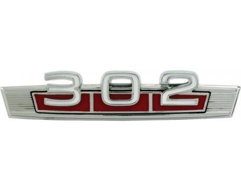 302 Emblem - Fender Ornament