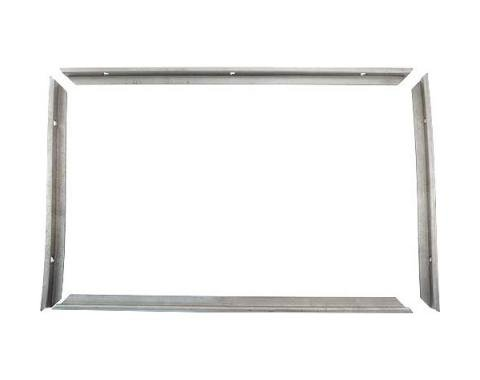 Model A Ford AA Truck Inside Rear Window Frame - 4 Pieces -Panel Delivery & AA Truck