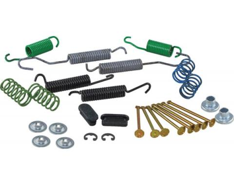 Chevy Truck Drum Brake Hardware Kit, Rear, 1976-1987