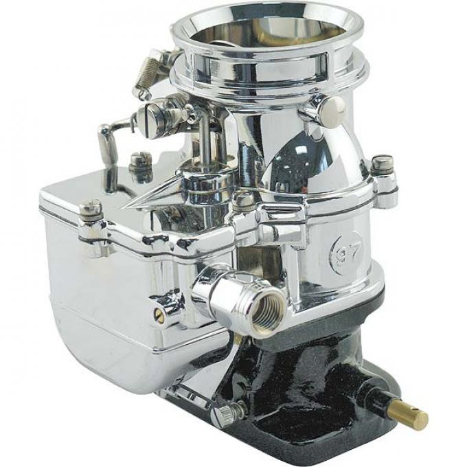 New Stromberg 97 Carburetor - Chrome - Show-Quality Finish
