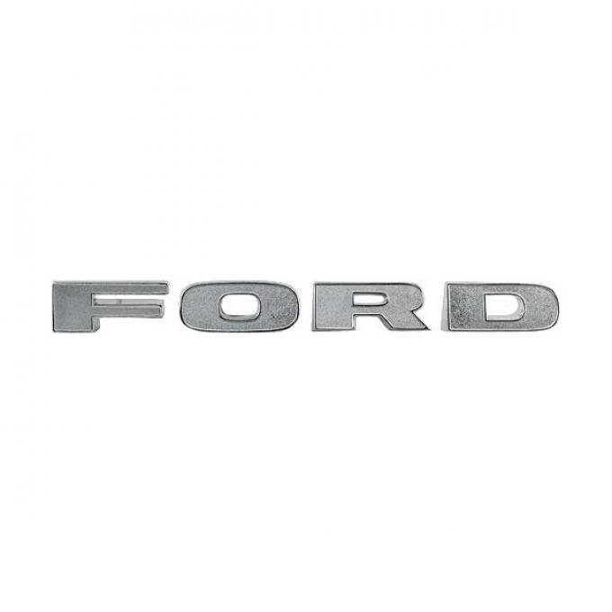Ford Pickup Truck Grille Letter Set - FORD - Triple Chrome Plated - F100 Thru F350