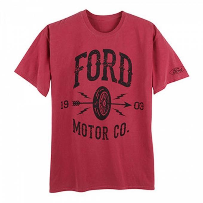 Ford Motor Company Vintage Wheel T-Shirt