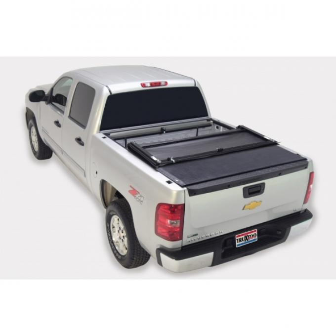 Truxedo Deuce Tonneau Bed Cover, Chevy Or GMC Truck, 5.8' Bed, Black, 2007-2013