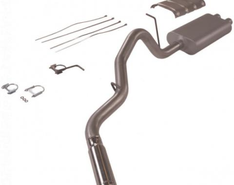 Chevy Or GMC Truck Flowmaster American Thunder Dual Exhaust, 3/4, Header Back System, Aluminized Steel 1999-2002