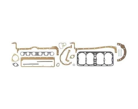 Engine Gasket Set - Complete - Fel-Pro Brand - Steel Head Gasket - 4 Cylinder Ford Model B
