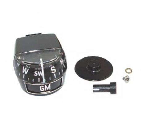 Classic Chevy - Accessory Compass With GM Logo, Universal