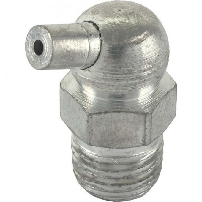 Grease Fitting - Steel - 5/16 Threaded - 65 Degree - Original Design But With Modern Ball Check Valve