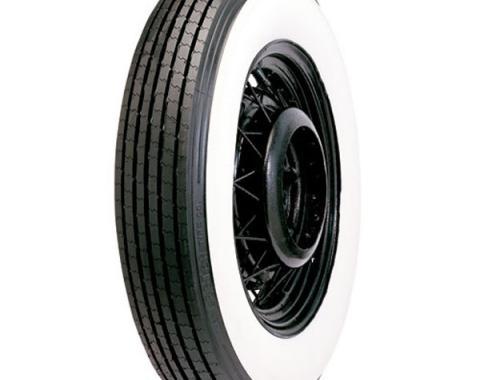 Tire - 750 X 17 - 5 Whitewall - Tube Type - Lester