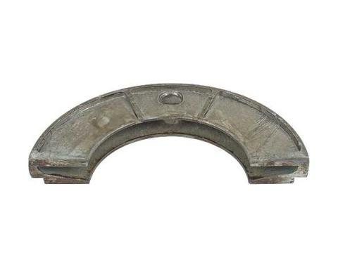 Rear Main Bearing Oil Seal - Lower - V Shaped Groove With Rear Single Slinger - Ford Flathead V8 Except 60 HP - Late 1936-42