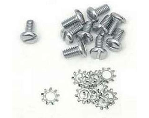 Chevy Truck Timing Chain Cover Bolts, With Lock washers, 1947-1955 (1st Series)