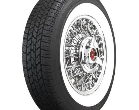 Tire - P215/75R15 - 2-1/2 Whitewall - Radial - Coker Classic