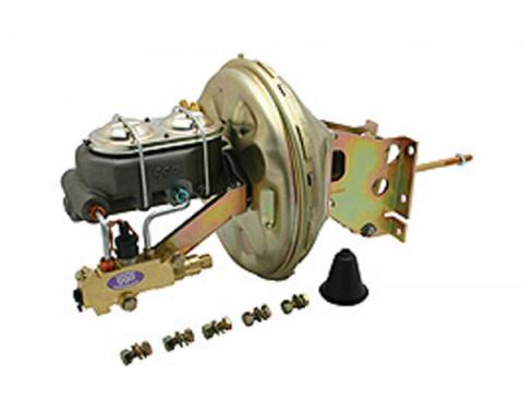 Chevy & GMC Truck Power Brake Booster And Master Cylinder Kit, 1973-1987