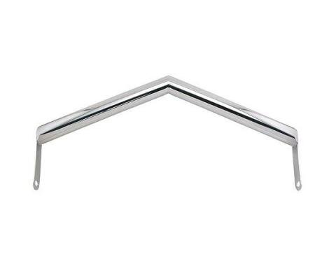 Front Spreader Crossbar - V Style Polished Stainless Steel - Ford