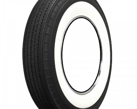 """Chevy And GMC Truck Tire, Original Appearance, Radial Construction, 8.00 x 15"""" With 3-1/4"""" Whitewall, 1947-1963"""