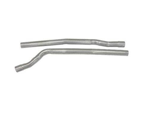 Header To Muffler Extensions - Aluminized Slip-in Style - Ford Pickup Truck