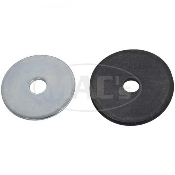 Fender Washer Kit - 56 Pieces - 1-1/2 Diameter Steel Washers & 1-5/8 Rubber Washers - Ford