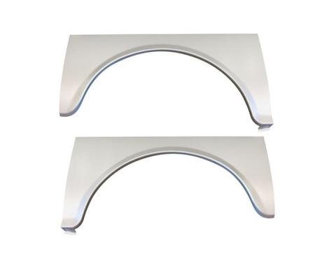 Rear Wheel Arch Opening Panels, 1955 Chevy Gasser