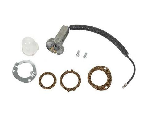 Lens, Socket & Mounting Kit - 8 Pieces - Ford Passenger