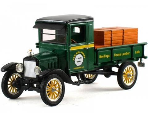 Ford Pickup Truck Die-Cast Model, Model TT, 1:32 Scale, Green, 1923