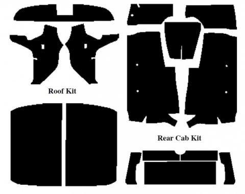 Acoustishield Kit, Ranchero, 1957-1958