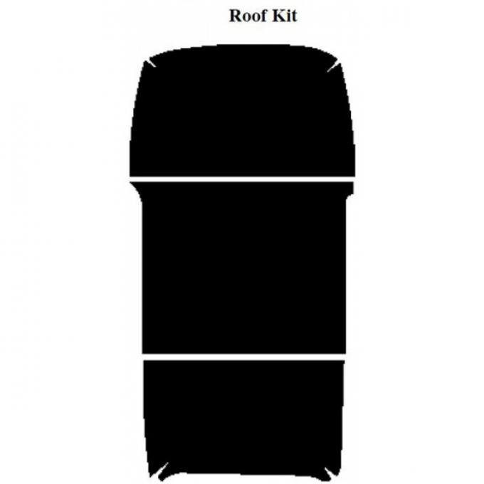 AcoustiSHIELD - Roof Insulation Kit - Panel Delivery Truck